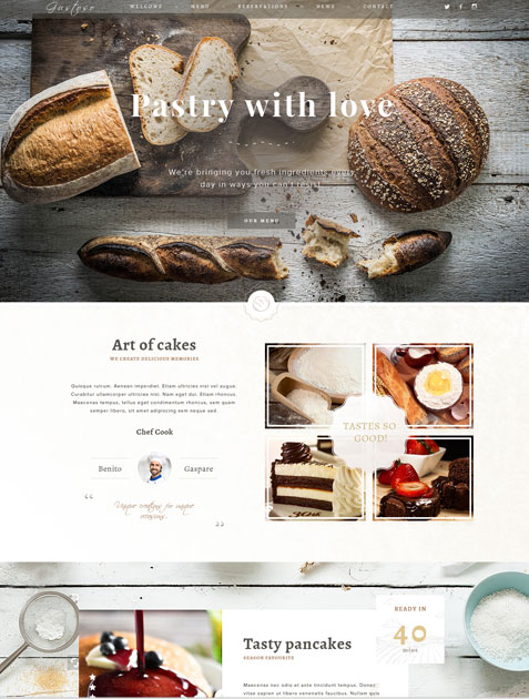 Pastry with Love Bakery Layout